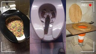 Weird Pictures of Toilets