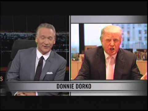 grifftoobe: Bill Maher Blasts Donald Trump for Suit Over Orangutan Joke