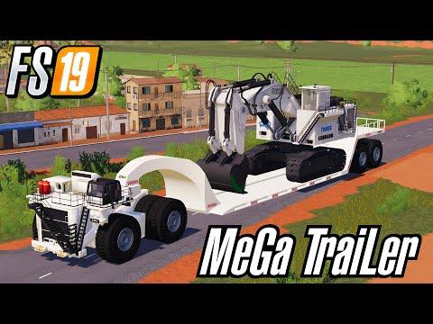 Miner's MeGa TraiLeR Bigggest Low Loader Ever v0.8