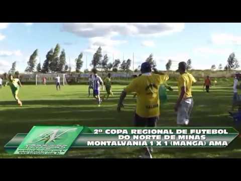 MONTALVANIA 1 X 1 AMA 30 04 2004 EM MTV  2a COPA NORTE MINEIRA FUTEBOL