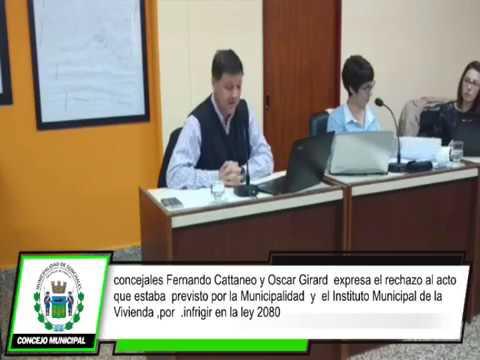Fernando Cattaneo infringir en la ley 12080