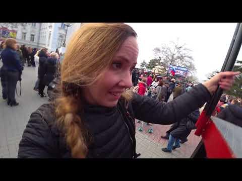 ПУТИН в Крыму собрал 50 000 человек. НАРОД выразил свое МНЕНИЕ. Севастополь 2018 - DomaVideo.Ru
