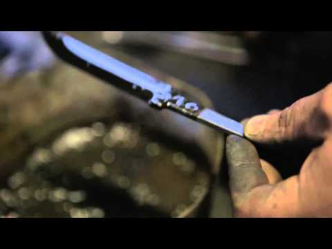 The Birth Of A Tool  Part III  Damascus steel knife making by John Neeman Tools