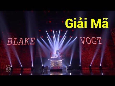Giải mã ảo thuật biến mất siêu tốc của Blake Vogt tại America's Got Talent 2016