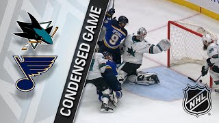 02/20/18 Condensed Game: Sharks @ Blues by NHL