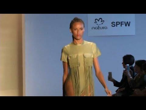 Sao Paulo Fashion Week: Lange Beine, auffällige Designs und exotische Models