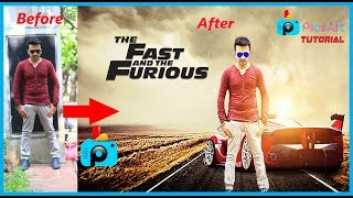 Nonton Fast and Furious poster design in online Picsart || HDR effect and change background Film Subtitle Indonesia Streaming Movie Download