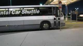 This was a surprising find at the Oakland Airport. A GMC RTS formally of SCRTD & Metrobus in Los Angeles operating on the Rental Car Shuttle for an unknown c...