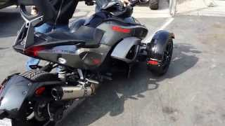 7. 2011 Can Am Spyder Rs-S SE5 For Sale Simi Valley Ca With Two Bro's Exhaust