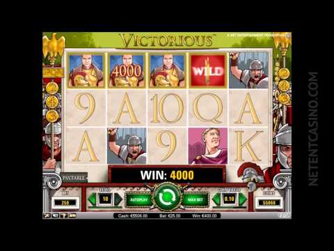 entertainment software - Bring out the Roman Emperor in you while playing Netent video slot Victorious for free at http://www.netentcasino.com/casinogames/victorious/ In Netent's Rom...