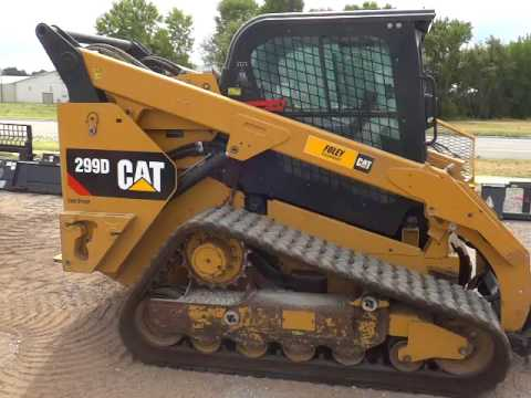 CATERPILLAR SKID STEER LOADERS 299DSTD2CA equipment video ufdroV8jELo