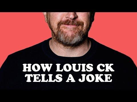 How Louis C.K. tells a joke