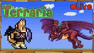 Terraria - Battling Betsy - 🔴 Live by Stampy