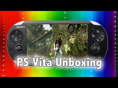 Sony PS Vita Unboxing (Playstation Vita)