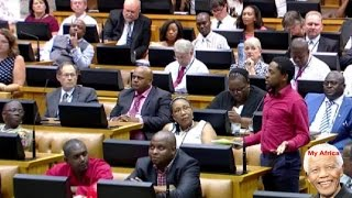 ☻Funny. EFF Takes On Parliament Rules. Breaking News 3 March 2015