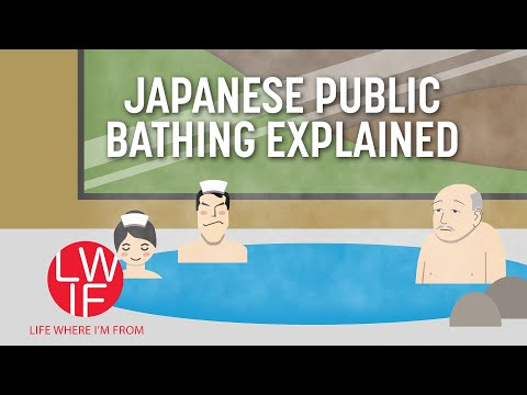 Why Japanese Love Bathing in Onsens (Hot Springs) (видео)