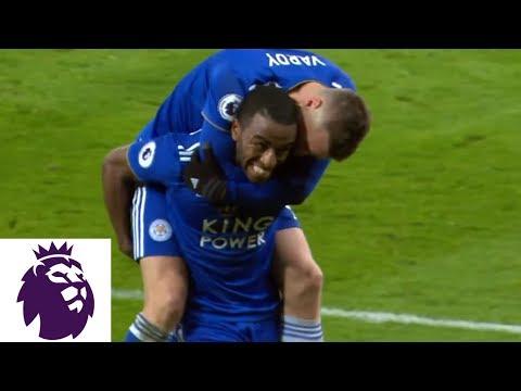 Video: Ricardo Pereira hits stunning strike to make it 2-1 against Man City | Premier League | NBC Sports
