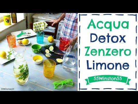 acqua detox zenzero e limone: la bibita fresca e dissetante