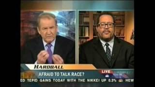 Pat Buchanan earns his racist bona fides on HARDBALL 2.19.09