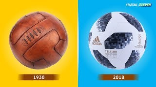 Video Bola Resmi Yang Dipakai Di Piala Dunia Dari Tahun 1930 - 2018 ● Starting Eleven MP3, 3GP, MP4, WEBM, AVI, FLV November 2017