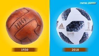 Video Bola Resmi Yang Dipakai Di Piala Dunia Dari Masa Ke Masa ● Antara 1930 - 2018 ● Starting Eleven MP3, 3GP, MP4, WEBM, AVI, FLV Juli 2018
