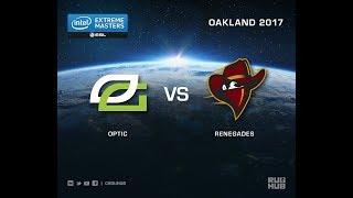 OpTic vs Renegades - IEM Oakland 2017 US Quals - map3 - de_train [ceh9, Crystalmay]