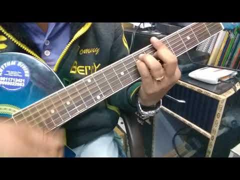 Bollywood Rhythm pattern Guitar Lesson.