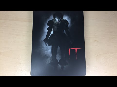 It - Best Buy Exclusive 4K Ultra HD Blu-ray SteelBook Unboxing