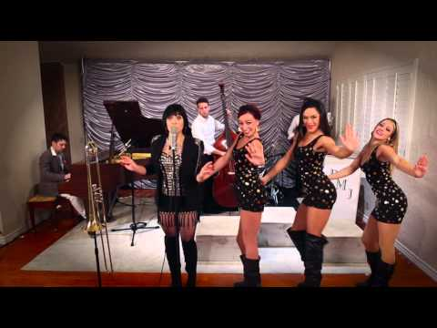 1960s Austin Powers  Style Cover of the Red Hot Chili Peppers  Give It Away with Aubrey