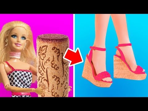 Video 20 CREATIVE IDEAS FOR YOUR BARBIE DOLL download in MP3, 3GP, MP4, WEBM, AVI, FLV January 2017