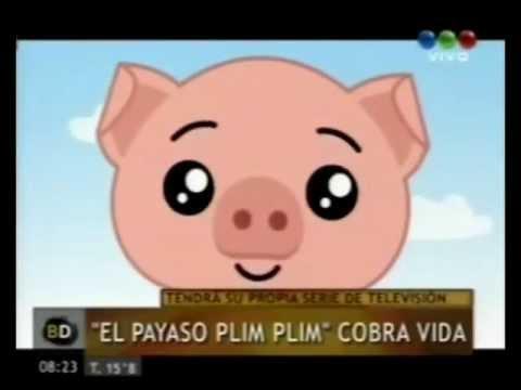 El Payaso Plim Plim un héroe del corazón - Disney Junior - Guillermo Pino - Telefe