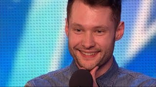 Video Calum Scott - Britain's Got Talent 2015 Audition week 1 MP3, 3GP, MP4, WEBM, AVI, FLV Mei 2018