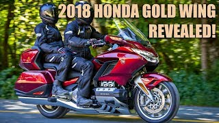 1. 2018 Honda Gold Wing Launch