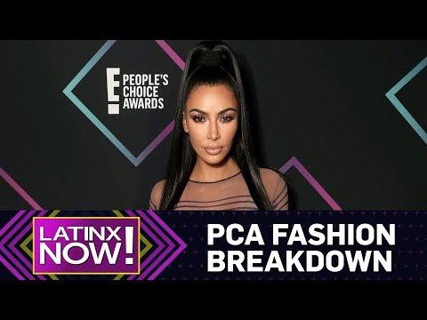 E! People's Choice Awards Red Carpet Fashion Breakdown | Latinx Now! | E! News