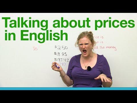 (videó) Angol alap és középfokú szókincs minimum - a pénz és vásárlás