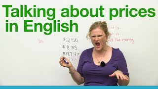 How to talk about prices in English - Basic Vocabulary