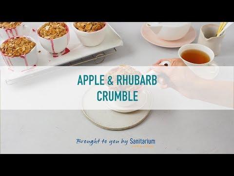 Apple and rhubarb crumble thumbnail 2