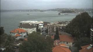 Sydney Webcam Time Lapse for Fri, 1st February 2013