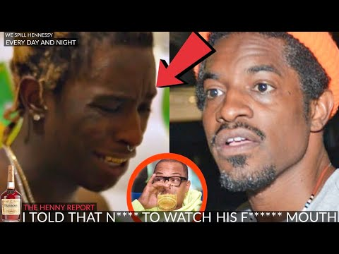 Young Thug got SMACKED by Andre 3000 in front of T.I. (YOU MUST SEE THIS)