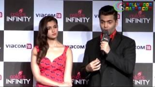 Alia Bhatt & Karan Johar launch a new English entertainment channel