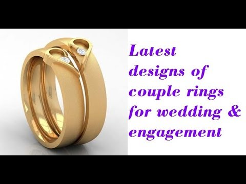 Latest designs of couple rings | love bands for wedding and engagement
