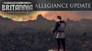 Total War Saga: Thrones of Britannia - Allegiance Update