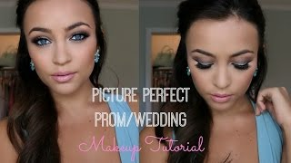 Picture Perfect Prom/Wedding Makeup Tutorial - YouTube