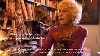 Master Puppeteer and Collector Giuseppina Volpicelli on Tholu Bommalata