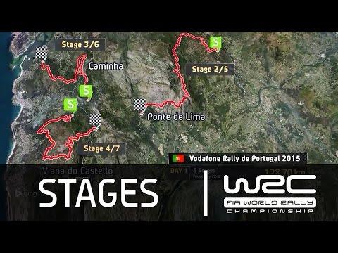 Vídeo los tramos del WRC Rallye de Portugal 2015