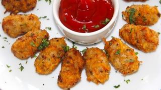 Homemade Tater Tots Video Recipe | Veggie Rice Cutlets | | Bhavna's Kitchen