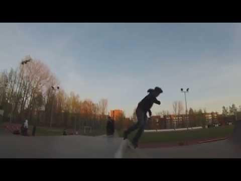 Bolderaja Skate Park. First  720° spin