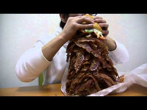 Japan - BK Whopper With 1050 Pieces Of Bacon