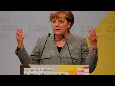 Με «ηλεκτρισμό…» η έναρξη της προεκλογικής εκστρατείας της Μέρκελ