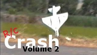R/c Plane Crash Vol.2  Includes Ducted Fan Jets - Fail!